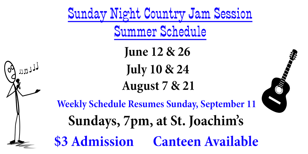 Jam Session - Summer Schedule